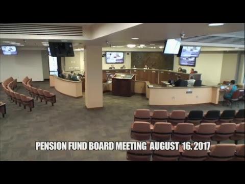 Pension Board Meeting