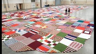 The World's Biggest Knit/Crochet Stocking-  Guinness World Record