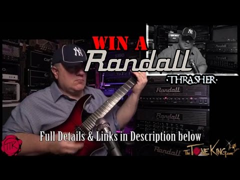 30 Pedals in 30 Days – 2014 Randall THRASHER Amp : The Tone King