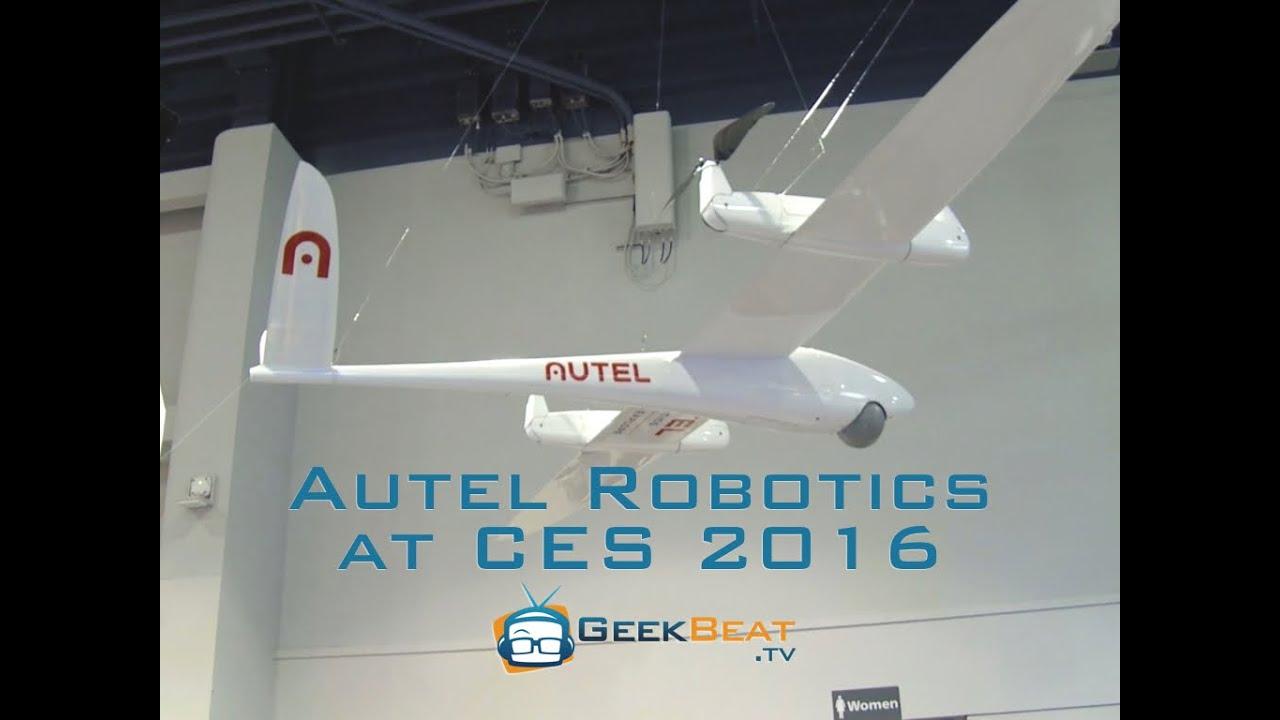 Autel Robotics X-Star Quadcopters at CES 2016