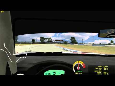 Game Stock Car Blancpain Mod with rF1 Sound