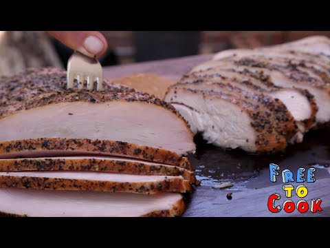 """How to Cook Smoked Turkey Breasts Inspired by """"Franklin Barbecue"""""""