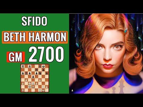Vanni Maceria contro Beth Harmon a 2700 - Mattoscacco