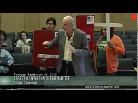 Seattle - Environment Committee - Stand UP America speech
