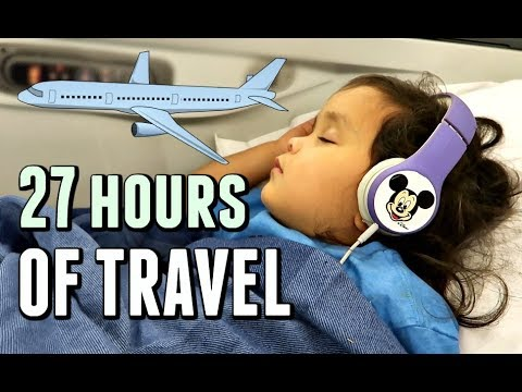 27 hours of Travel to the Philippines! - September 21, 2017 -  ItsJudysLife Vlogs