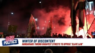 Winter of discontent? Protests spread to Brussels and Budapest | Raw Politics