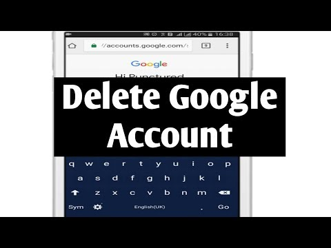 I want to remove my google account from my phone