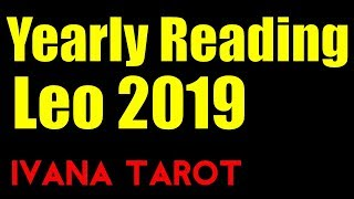 ❤️ Now You Know Who Loves You - 2019 Leo Yearly Tarot Reading