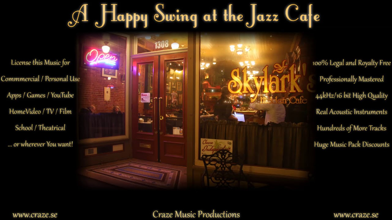 A Happy Swing at the Jazz Cafe