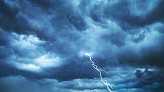 Rain on Roof with Thunder Rainstorm White Noise for