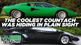 Chasing the coolest Lamborghini Countach on Earth