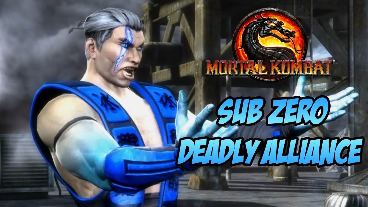 Sub Zero Deadly Alliance MOD SKIN - Mortal Kombat PC - YouTube