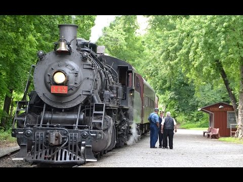 Delaware River Railroad: Fourth of July Weekend with #142