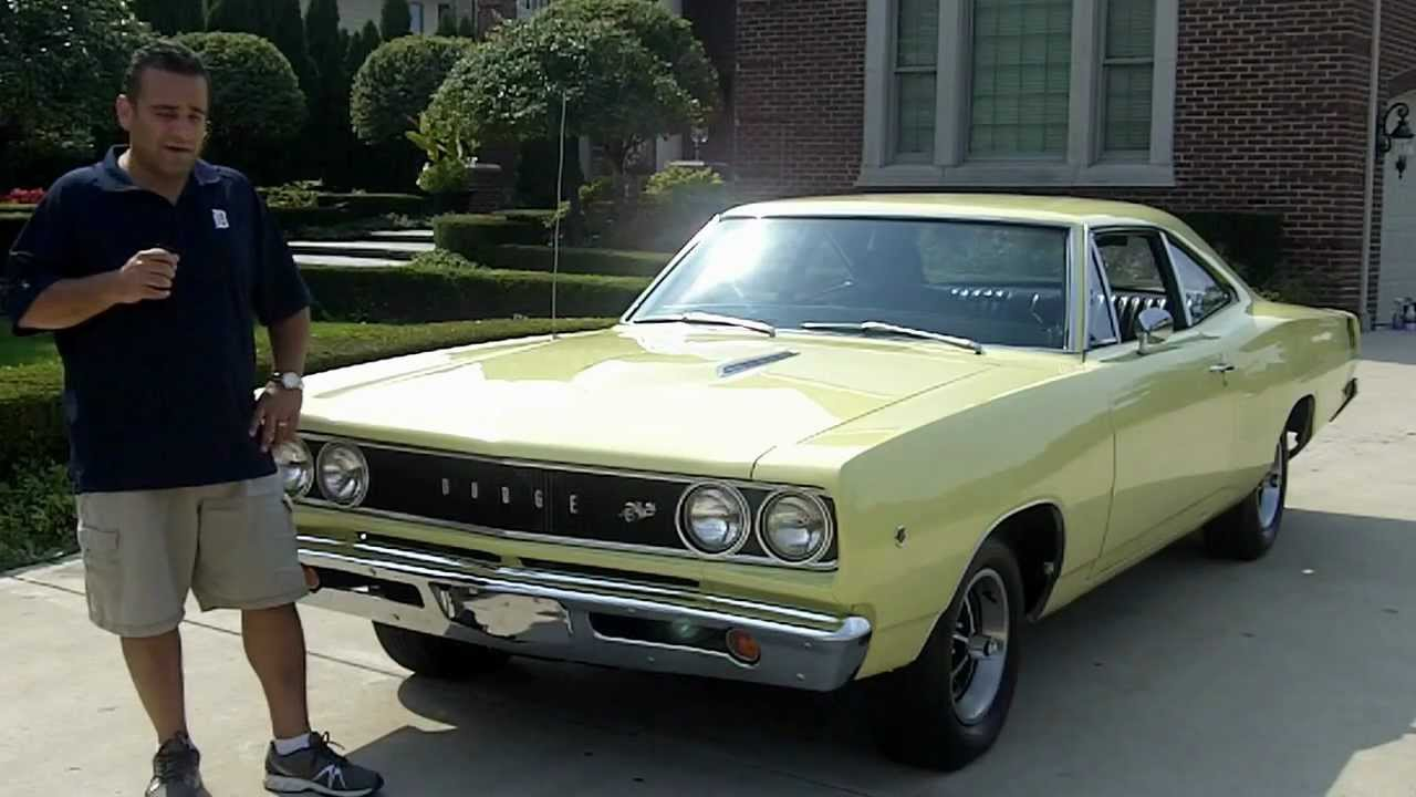 1968 dodge super bee classic muscle car for sale in mi for Vanguard motors for sale