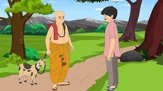 बकरी और ब्राह्मण | प्यासा कौआ | New Hindi Kahaniya For Kids | Moral Stories | Mumbo Jumbo Kids
