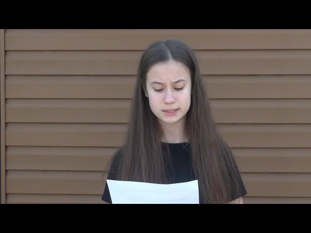 Иванова Анастасия читает произведение «Полночный звон степной пустыни...» (Бунин Иван Алексеевич)