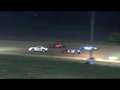 Street Stock Heat Race #1 at I-96 Speedway on 05-25-18.