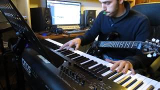 Entre dos aguas- Paco de Lucía (phsicodelic piano and guitar c