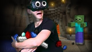 Minecraft Mixed Reality | WE NEED MATERIALS! (HTC Vive Virtual Reality) [Ep 7]