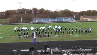 "LCHS Marching Band - ""It Might As Well Be Swing"" - 10/27/2012"