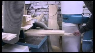 производство мебели из массива дерева сосны(Видео показывающее процесс производства мебели на фабрике Лиман Муром., 2014-02-18T12:41:31.000Z)