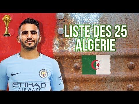 Liste des 25 de l'Algérie pour le choc contre le Togo en Eliminatoires de la CAN 2019
