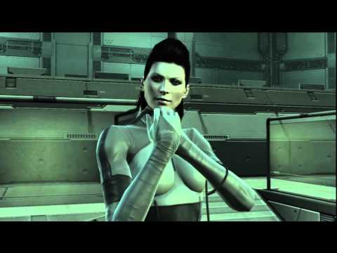 Playing MGS4 (Act 5 - Old Sun - Outer Heaven/Bering Sea) Part 3 Screaming Mantis BossBattle