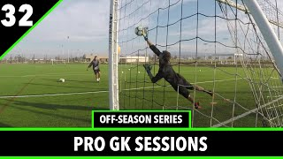 Calculated Footwork + Diving  | Goalkeeper Training | Ep.7 Off-Season Series | Pro GK