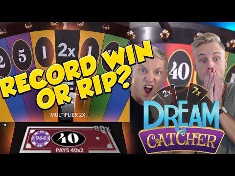 RECORD WIN DreamCatcher Big win - Casino - HUGE WIN (Casino Games)