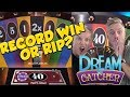 RECORD WIN OR RIP?!? Dream Catcher - Casino Games - Live Casino