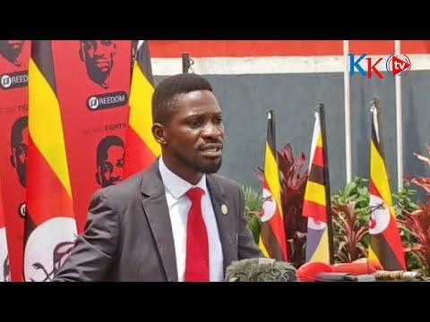 BOBI WINE LIVE | PRESS CONFRENCE | KAMWOKYA