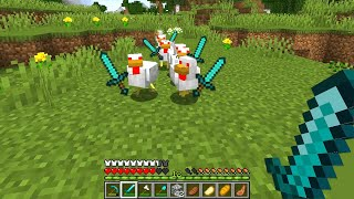 Minecraft but all nice mobs are evil now...