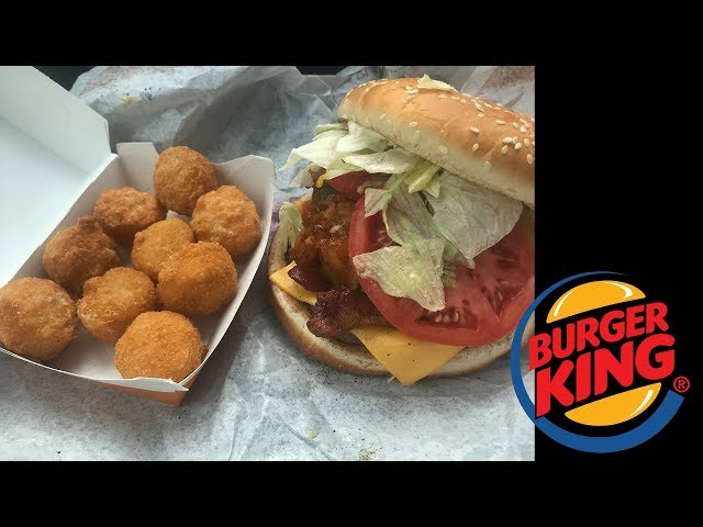 Burger King\: Angry Whopper & Bacon Tots Review