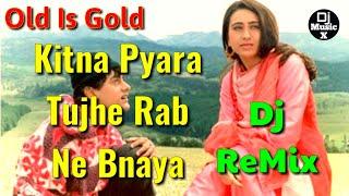 DjRemix | Kitna Pyara Tujhe Rab Ne Banaya | Raja Hindustani | Hard Bass Mix | Dj MusicX |