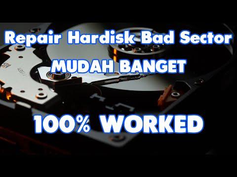 Cara Memperbaiki Hardisk Bad Sector Menggunakan HDD Regenerator 100% Worked