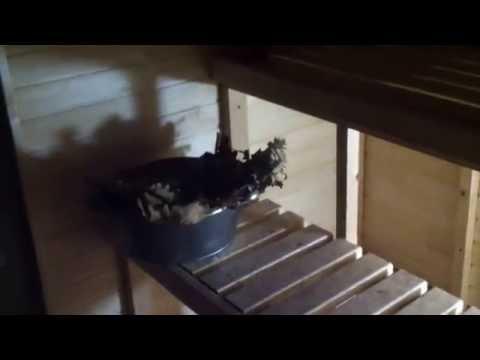 видео: Баня своими руками в подвале моего гаража