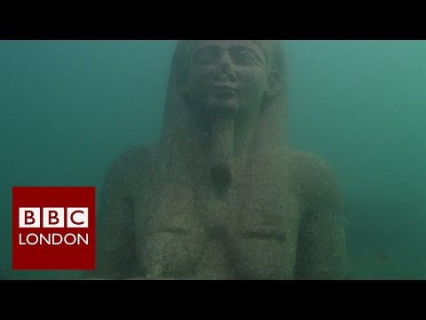 Sunken Egyptian treasures on show at the British Museum