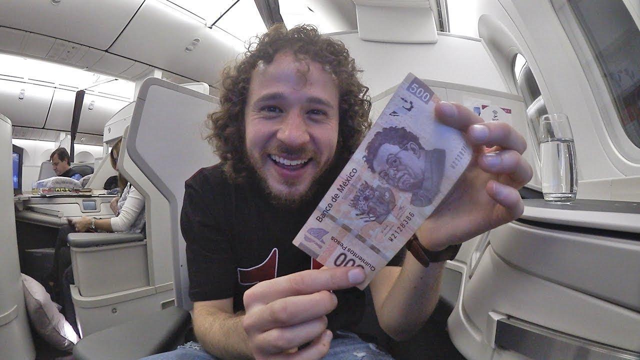 Volar en PRIMERA CLASE por sólo $500! | Consejos para viajar de Luisillo