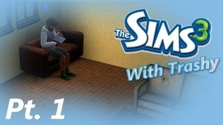 "The Sims 3 Let's Play w/ Trashy : Part 1 ( ""Harry"" Jack...Hehe ) thumbnail"