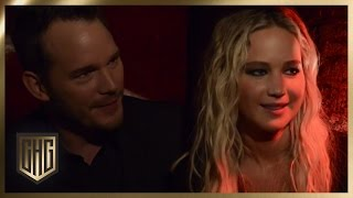 Im Keller: Jennifer Lawrence & Chris Pratt | Circus HalliGalli