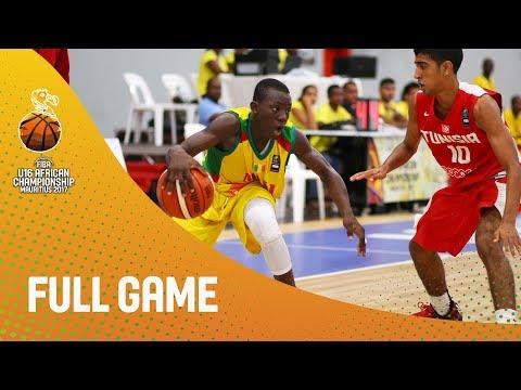 Mali v Tunisia - Full Game - FIBA U16 African Championship 2017