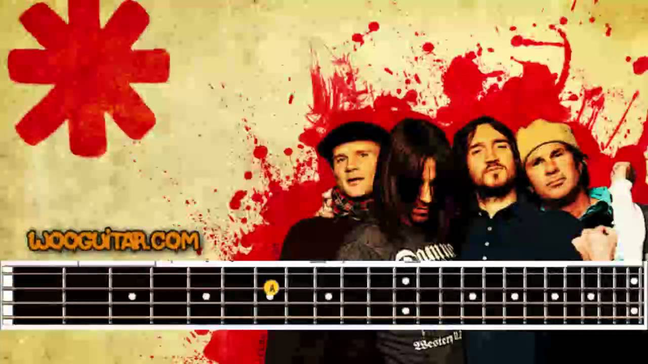 Soul to squeeze bass tab red hot chili peppers bass only youtube.