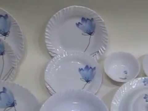 & FRENCH MARBLE MELAMINE DINNER SETS (MAJESTIC PAKISTAN) - YouTube