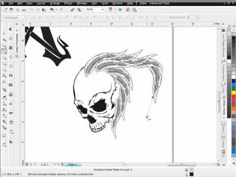 How To Create T Shirt Designs With Corel