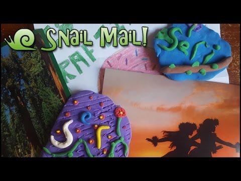 Hawaiian Alohas & Giant Sequoia Seeds!! || Snail Mail Vlog!