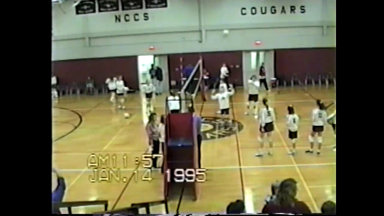 NCCS - Saranac JV Volleyball  1-14-95