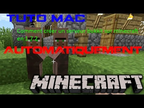 Tuto mac comment cr er un serveur minecraft en 1 7 2 automatiquement youtube - Comment creer un chateau dans minecraft ...