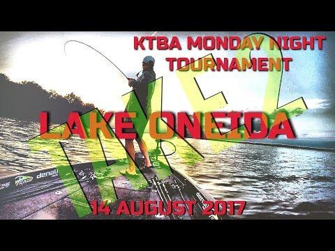 Monday Night Tournament Oneida Lake TOP 10!