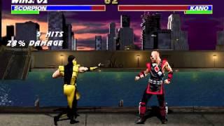 Ultimate Mortal Kombat 3 (rev 1.2) - Ultimate Mortal Kombat 3 (rev 1.2) (Arcade / MAME) - User video