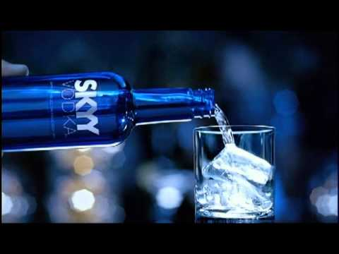 analyzing a skyy vodka advertisement Analysis of global marketing strategies in distilled spirits industry: fashion model in a pose that recreates a famous skyy vodka poster for the movie ad.